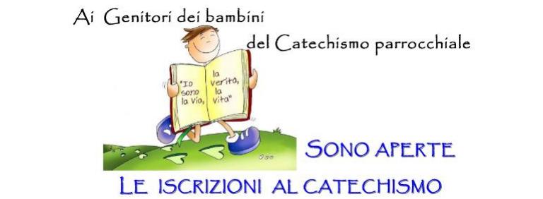 Modulo di iscrizione catechesi 2017 – 2018