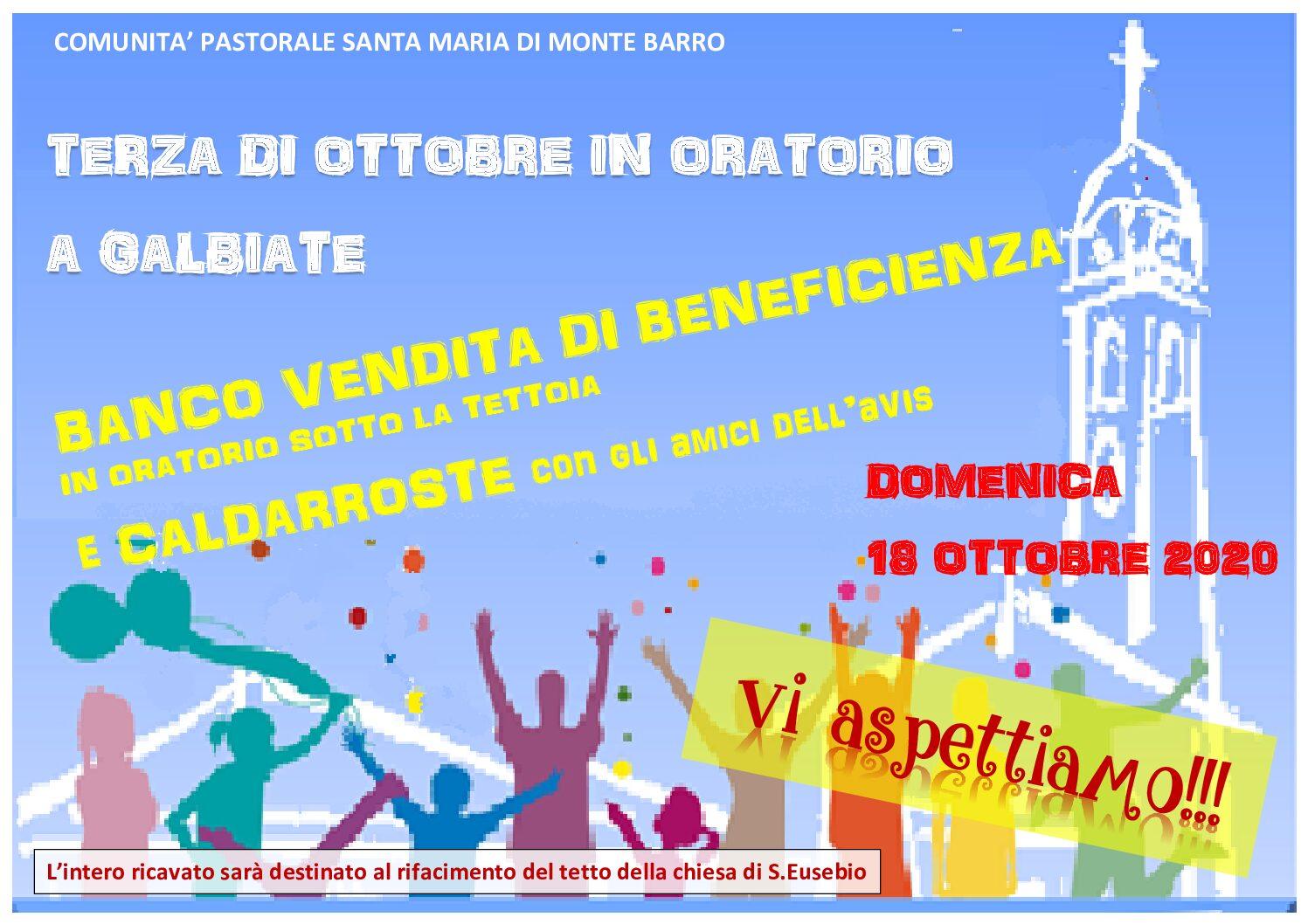 Terza di ottobre in Oratorio a Galbiate